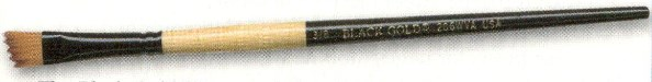 The Black Gold Wave angle brush