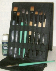 brushes holder