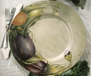 eggplant parmesan plate
