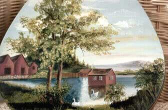 Swan Lake Bentwood Box