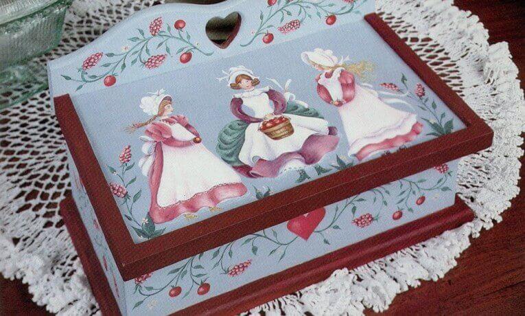 Apple Maidens Recipe Box