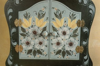 Hallingdal Flowers Key Box
