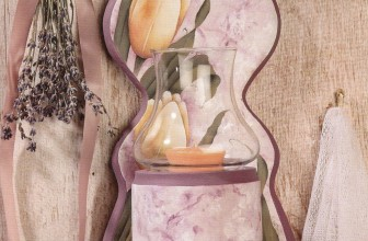 Spring Candle Sconce