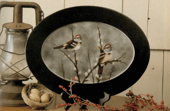 Tree Sparrows Tray