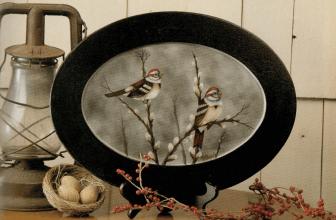 Tree Sparrows Tray
